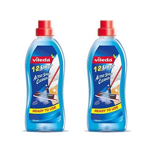 vileda 1 2 spray produkt od mopa 2x 750 ml - Vileda 1-2 Spray produkt od mopa, 2x 750 ml